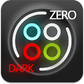 Dark Zero GO Launcher Theme
