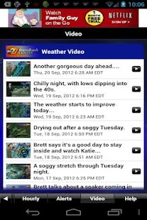 abc27 Weather - screenshot thumbnail