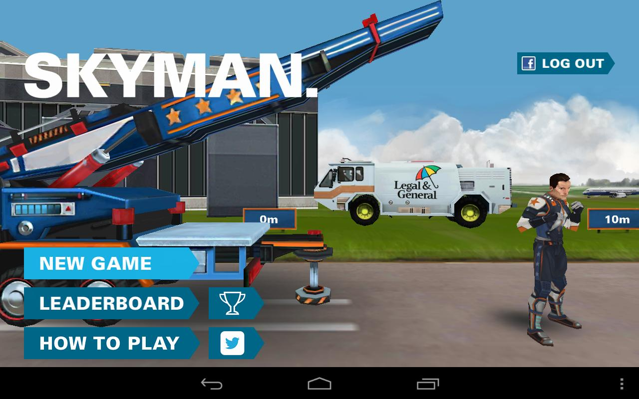 Skyman- screenshot