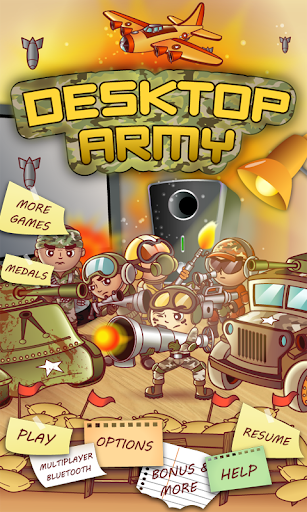 Desktop Army - War of Glory
