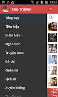 Screenshot of Kho Truyen Online