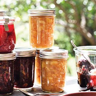 Triple Ginger Nectarine Jam