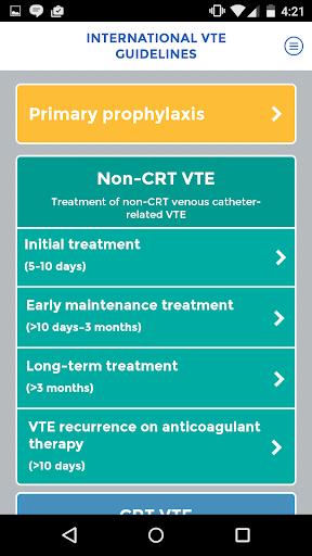 Intl. VTE Cancer Guidelines