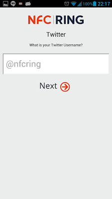 NFC Ring Control - screenshot