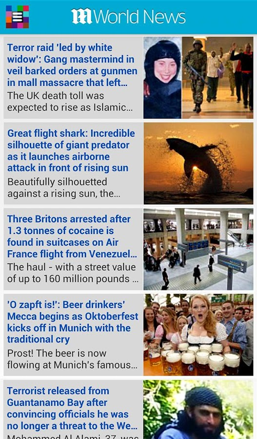 Daily Mail Online - screenshot