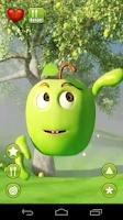 Screenshot of Talking Green Apple