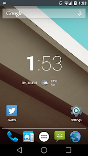 Droid DO L Theme for CM9/10- screenshot thumbnail