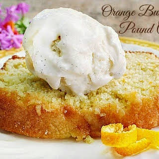 Orange Buttermilk Pound Cake.