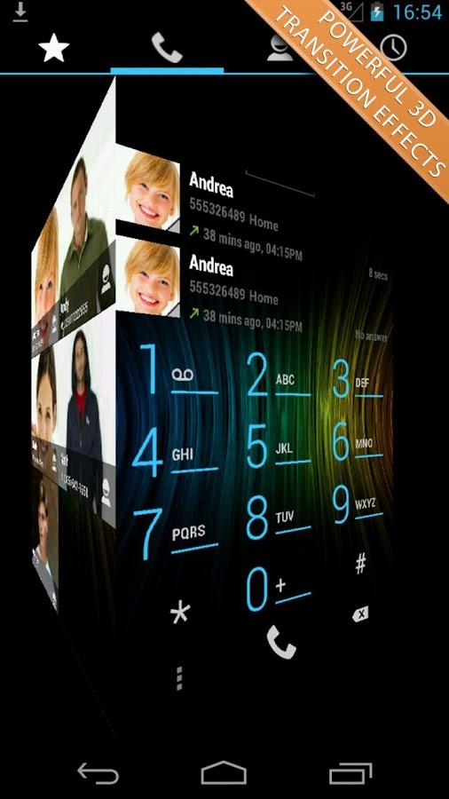 Swipe Dialer Pro - screenshot