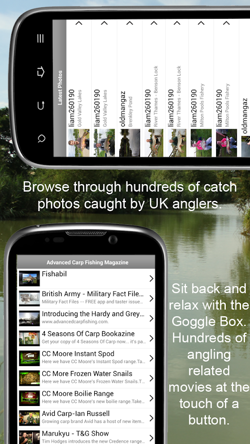 Fishing UK - Carp Coarse Fly - screenshot