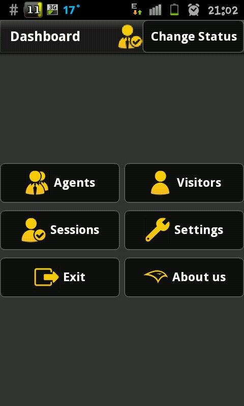 Support Panel Mobile- screenshot