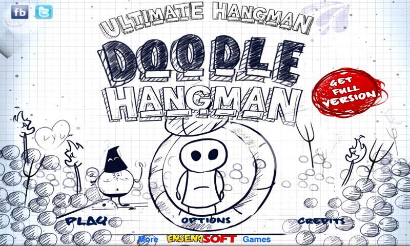 Doodle Hangman HD Free- screenshot