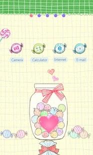 CUKI Theme Love Candy Love