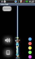 Screenshot of Laser Pointer Simulator