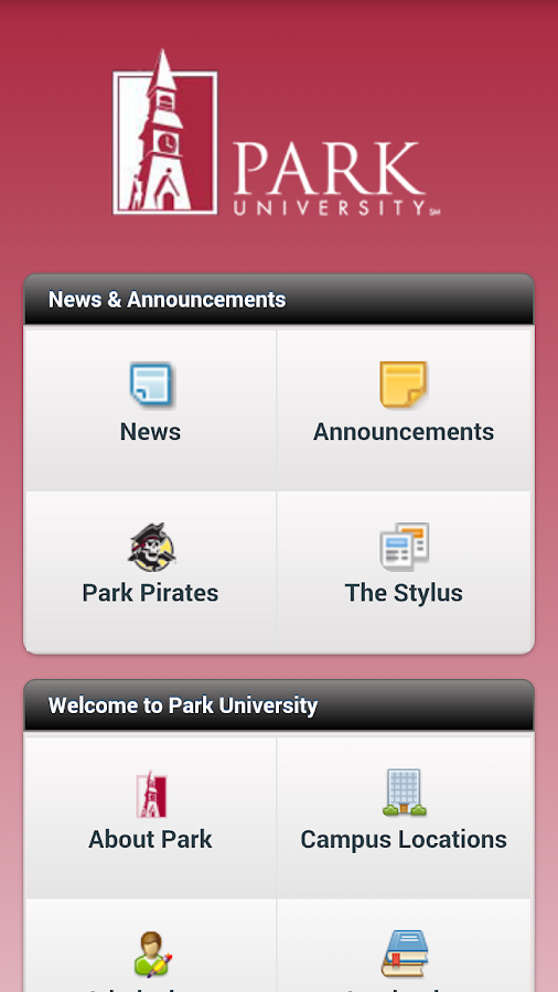 Park University Mobile- screenshot