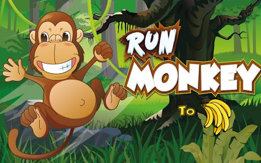 Run Monkey To Bananas