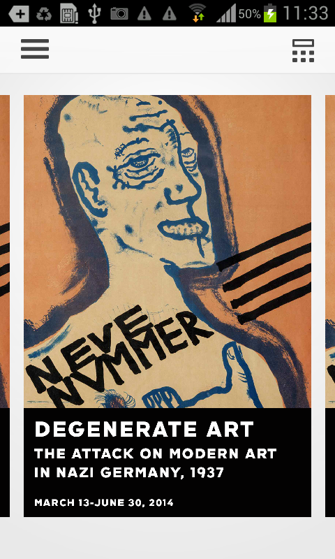 Neue Galerie- Degenerate Art - screenshot