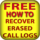 Recover erased call logs FREE