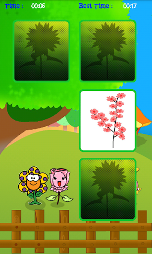 Flower Memory Puzzle