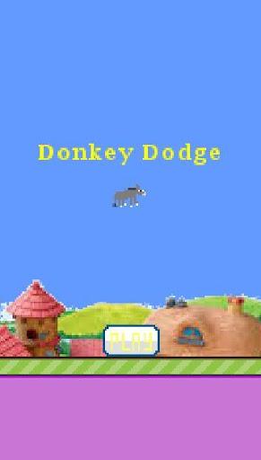 【免費街機App】Donkey Dodge-APP點子