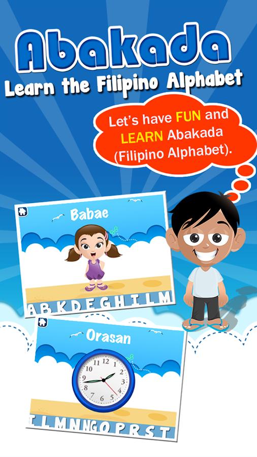 Abakada - Tagalog Alphabet - screenshot