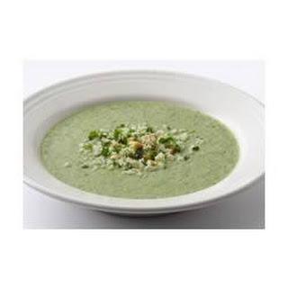Very Green Broccoli Soup.
