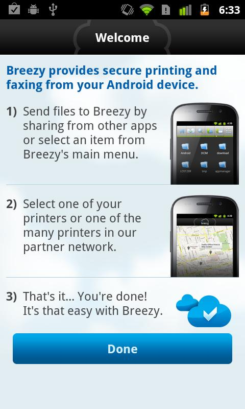 Breezy For Good Technology - screenshot