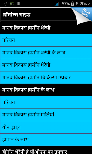 Hormones Guide in Hindi