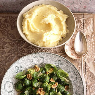 Brussels Sprouts with Lemon and Walnuts