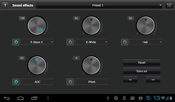 Screenshot of jetAudio Music Player+EQ Plus
