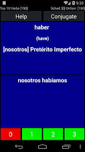 Spanish Verb Trainer - screenshot thumbnail