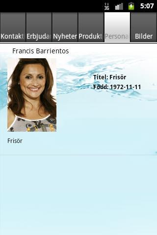 Francis Hår & Skönhetsvård - screenshot