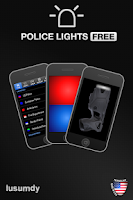 Screenshot of Police Lights Free