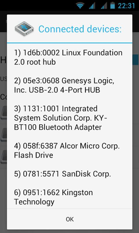 Alcatel OT-993D OTG Enabler - screenshot