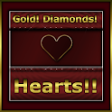 Hearts Diamonds & Gold Theme