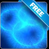 Glowing blue rings free lwp