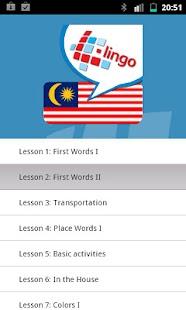 L-Lingo Learn Malay- screenshot thumbnail