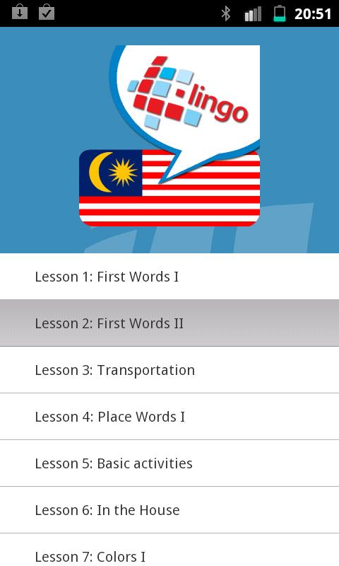 L-Lingo Learn Malay- screenshot