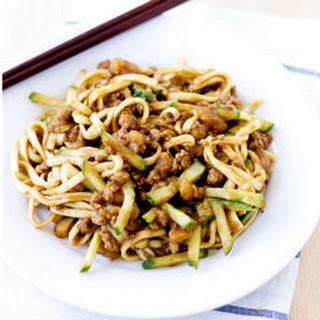 Beijing Fried Sauce Noodles (Zhajiangmian)