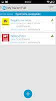 Screenshot of My Tracker Full