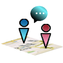 即时通地图追踪-IM Map Navigator Lite icon