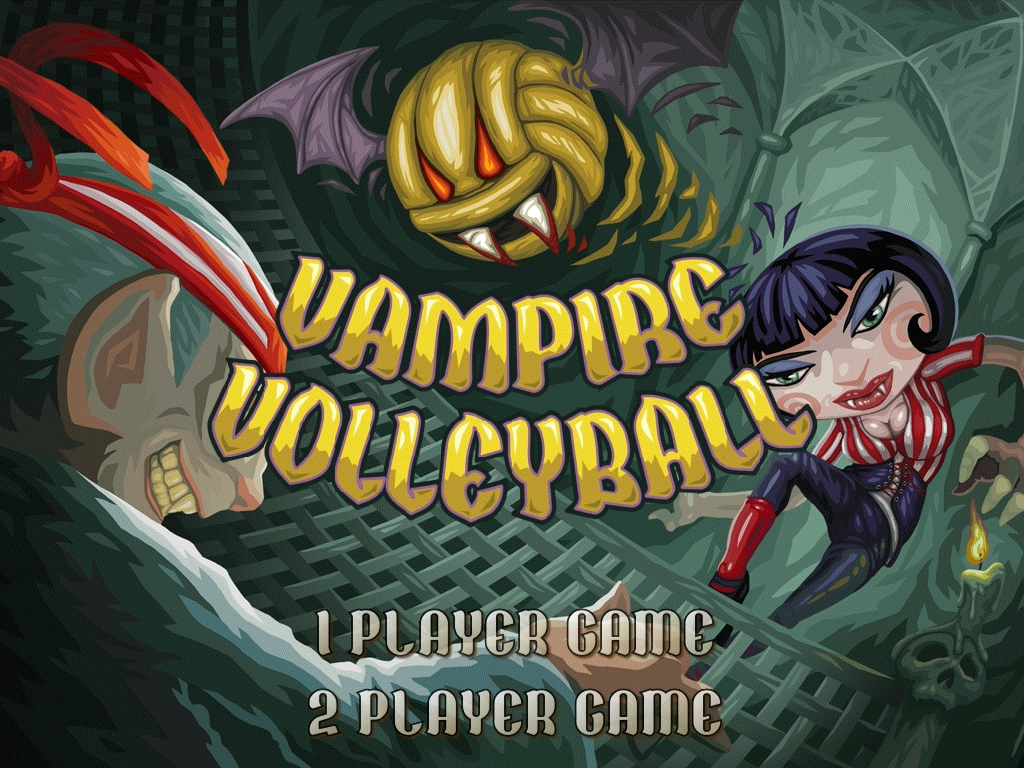 Vampire Volleyball - screenshot