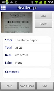 Digital Receipts- screenshot thumbnail