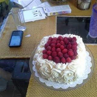 Lemon Raspberry White Chocolate Mousse Cake.