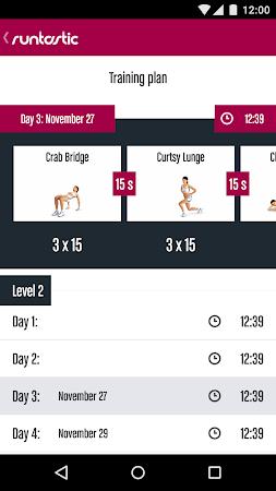 Runtastic Butt Trainer Workout 1.3 screenshot 31833