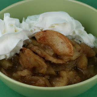 Scalloped Apples Dessert in the Slow Cooker