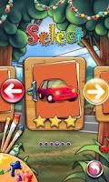 Screenshot of Coloring Book Car-draw game