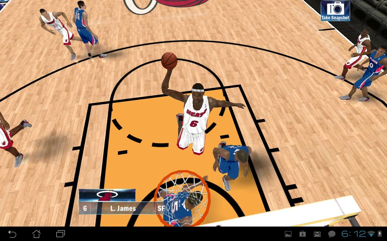 NBA 2K13 v1.1.2 Updated 15 July 2013 free apk full