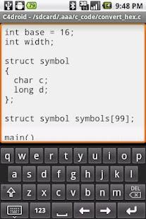 Programmers Keyboard- screenshot thumbnail