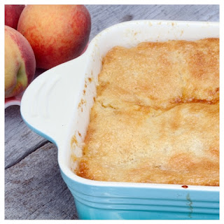 Make-Ahead Peach Cobbler